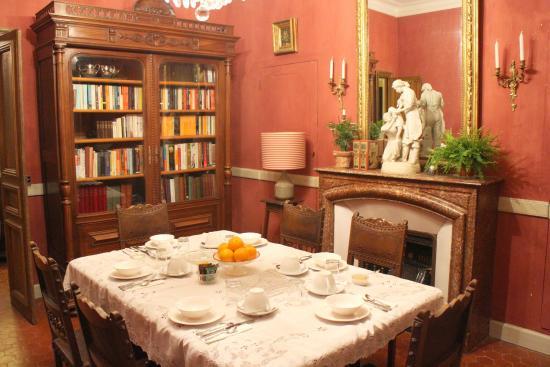 Autignac, Francja: Dining room