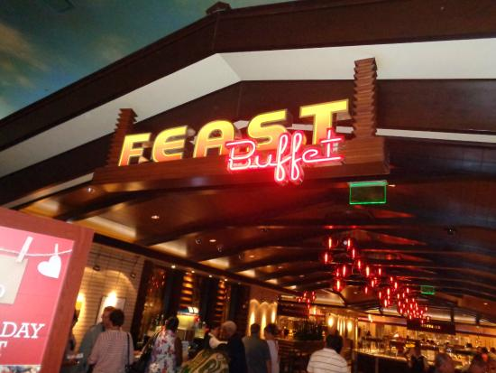 sign picture of feast buffet at boulder station las vegas rh tripadvisor ca