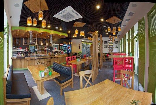 Gatne, Ukraine: Restaurant hall