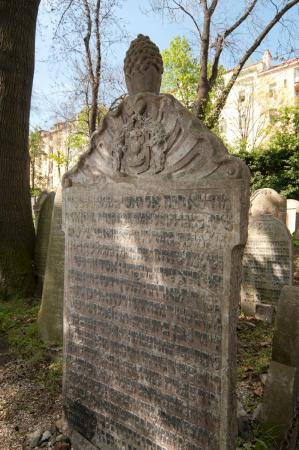 ‪Old Jewish Cemetery in Zizkov‬