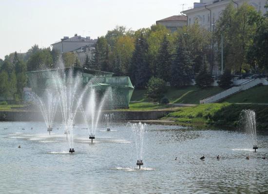 Парк Чёрное озеро