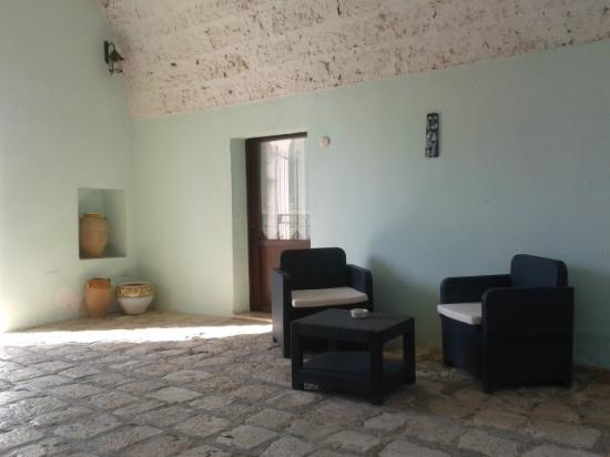 Masseria Artemisia: Area relax.