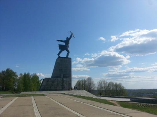 Peremilovo, Ρωσία: Солдат-освободитель Москвы