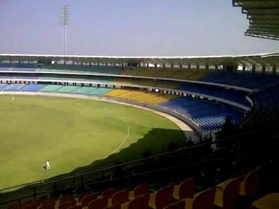Rajkot, Indien: View of Stadium