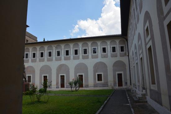 Monastero di Santa Scolastica: Il chiostro  rinascimentale