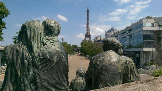 Monument commemoratif de la rafle du Vel'd'Hiv