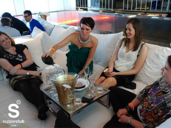 Supperclub Cruise Amsterdam: Dinner night