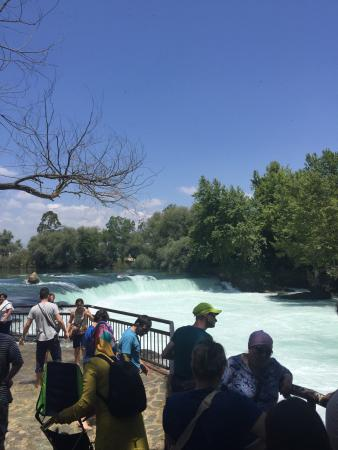 ‪Manavgat Waterfall and River‬