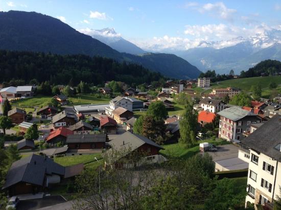 Alpine Classic Hotel Leysin: テラスからの眺め