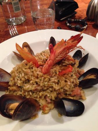 Best Western Atlantic Hotel: Seafood dish, well recommended