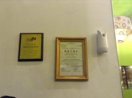 Halal Saigon: Sertifikasi halal :D