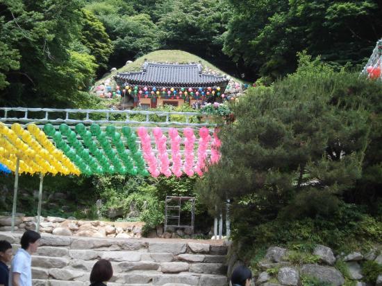 Seokguram: 石仏を安置してある建物