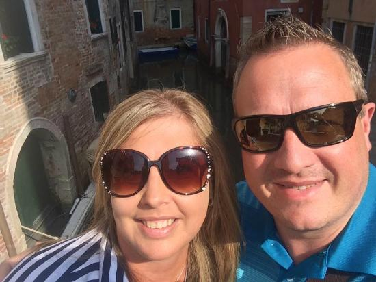 The Venice Experience - Tours : In Venice on our 25th wedding anniversary