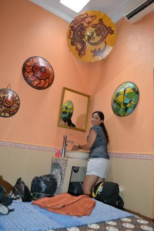 Setia Kawan: El vanitory dentro de la habitación. Hermosa decoración