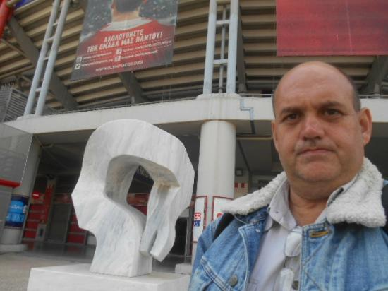 Giorgos Karaiskakis Stadium: Estadio do Olympiakos - Pireus - Grecia