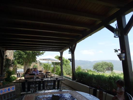 El Tesoro : The terrace