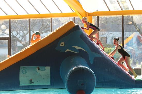 Childrens Play Time At Aquila Club Leisure Centre Swimming Pool In The Gleneagle Hotel Picture