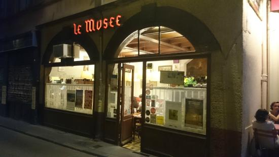 le musee restaurant lyon