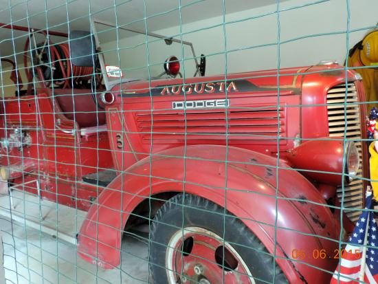 Boothbay Railway Village: fire truck