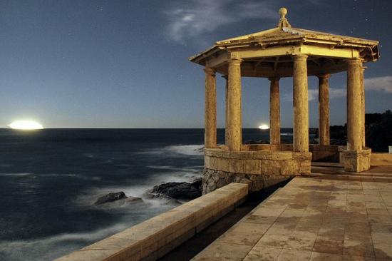 Costa Brava, España: беседка