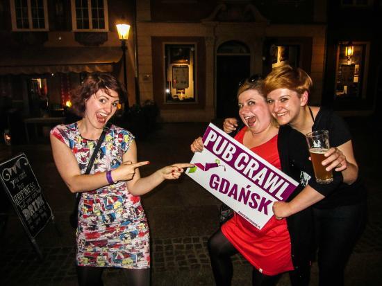 Pub Crawl Gdansk