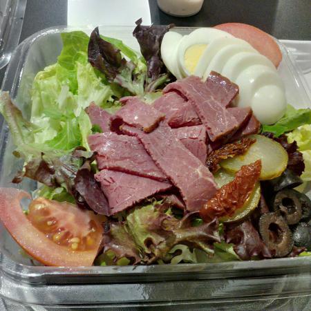 Beef Pastrami Salad