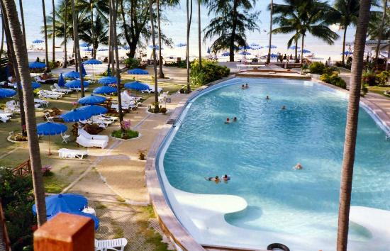 Imperial Boat House Beach Resort Koh Samui Poolbereich Mit Blick Auf Den Strand