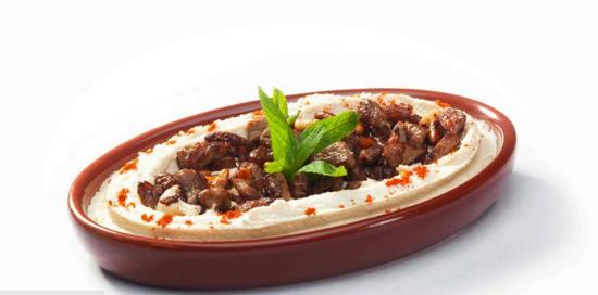Hayta Meyhane Restaurant: hayta meyhane spesyallerinden KAVURMALI HUMUS