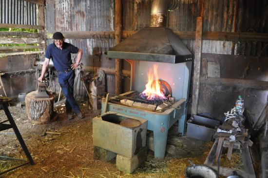 Chipping Norton, UK: The forge