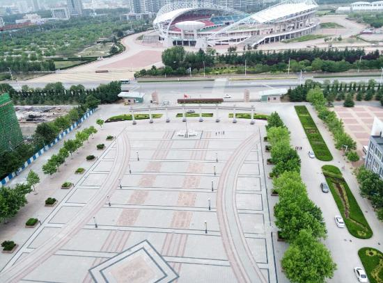 Yantai, China: I took these pictures from 15 floor of my School