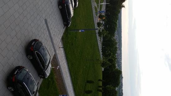 BEST WESTERN PREMIER Schlosshotel Park Consul: Blick Richtung Nordwesten