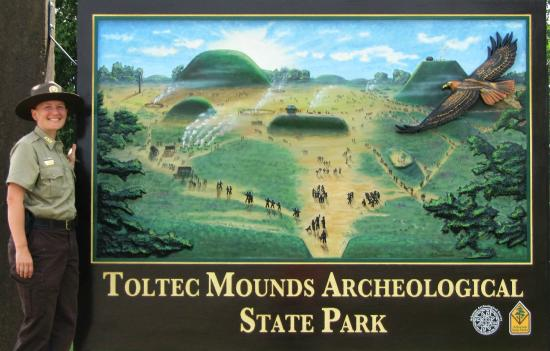Toltec Mounds Archaeological State Park: Welcome to Toltec Mounds Archeological State Park