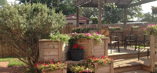 Hotel Garza Bed and Breakfast: Relax in our Gazebo!