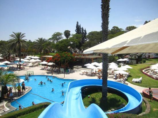 Hotel Las Dunas: vista panorámica de este hermoso hotel