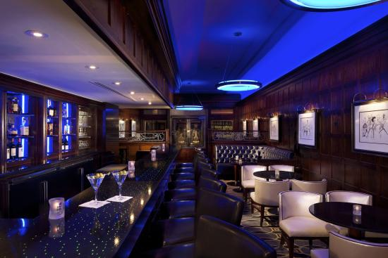 The Blue Bar, Algonquin Hotel : Perfect for pre-theater dining