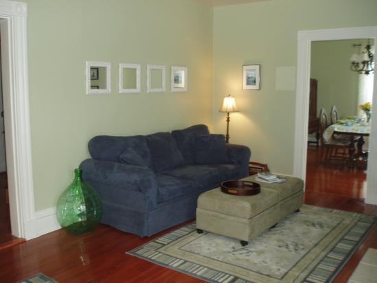 Nappan, แคนาดา: Livingroom