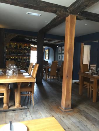 Bildeston, UK: Restaurant