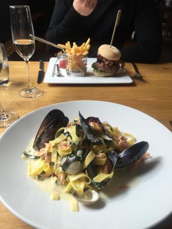 Bildeston, UK: Seafood Taglitelle