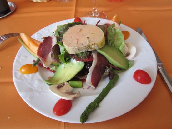 Viterbe, France : Salade gourmande