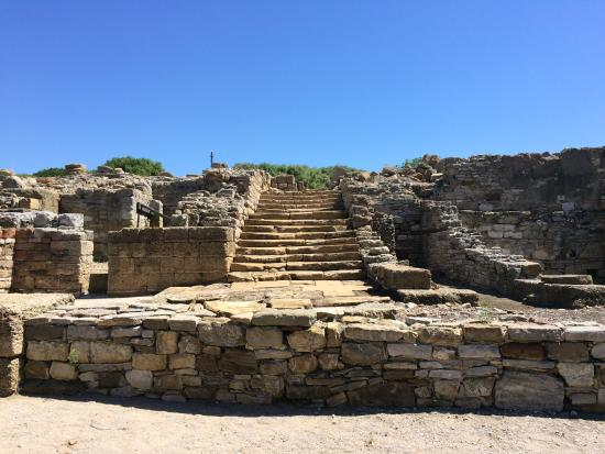 San Roque, Spanien: Stairs to the forum