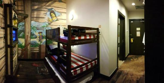 Bunk Beds With Pull Out Bed Picture Of Legoland Malaysia Resort