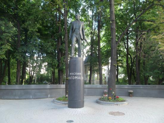 Muslim Magomayev Statue