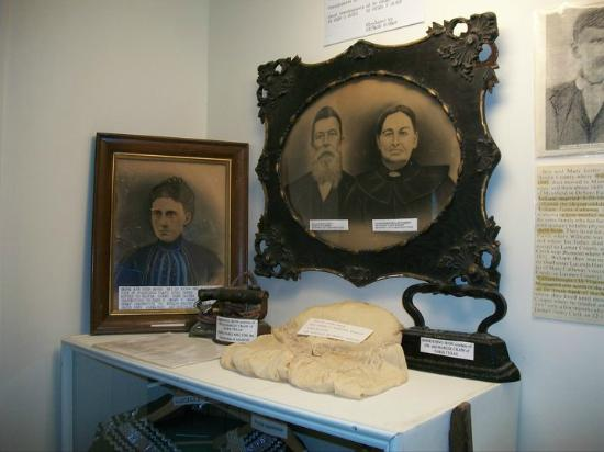 Enloe, TX: Clara Foster Slough Museum displays hundreds of area artifacts.