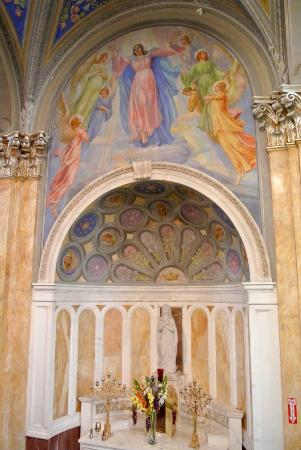 St. Ann Arts and Cultural Center: To the left of the main altar.