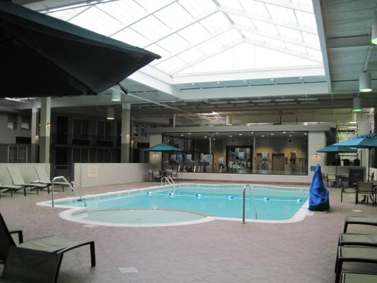 Best Western Plus Kingston Hotel Conference Center Indoor Pool With Kid Wadding