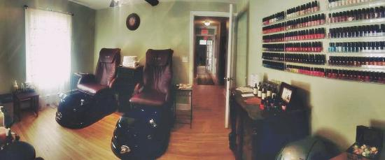 Barrington, NH: Pedicure Room