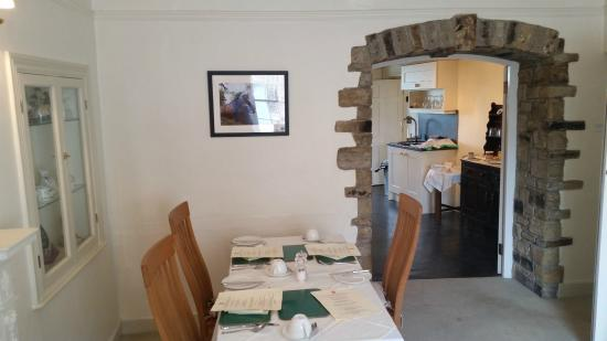 Clyde House: A corner of the breakfast room