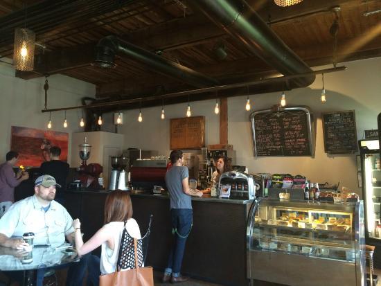 Garage Coffee Company Inside The