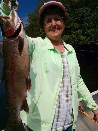 Great day of tenkara fishing with john nissin royal for My fishing advisor