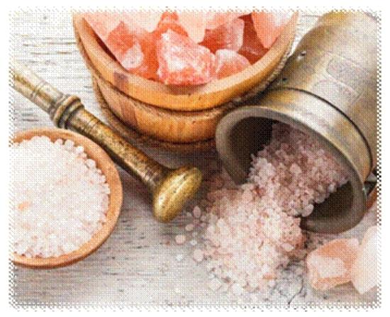 Himalayan Salt has over 84 trace minerals that the human
